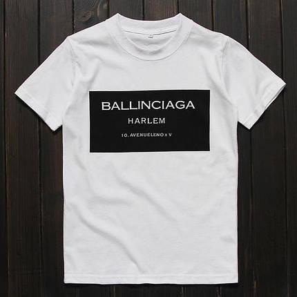 Футболка с принтом BALLINCIAGA Баленсиага (Размер L), фото 2