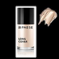 Тональный крем для лица длительного действия Long Cover Fluid Фарфор (00) Paese, фото 1