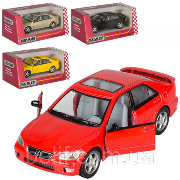 Машинка KT5046W мет,іньерц,відчин,двері,гумові колеса,4кольори,кор,16-7-8см