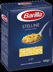 Макарони BARILLA 27 STELLINE зірочки, 500гр (24шт/ящ)