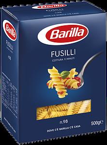 Макарони BARILLA 98 FUSILLI спіраль, 500гр (12/15/30шт/ящ)