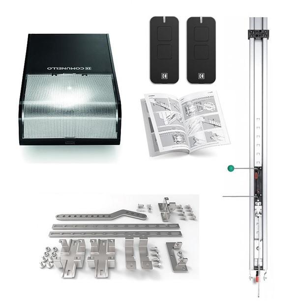 Автоматика для гаражних воріт Comunello RT1000LKIT для прорізу висотою до 3,3 м