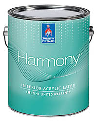 Краска Harmony Flat Sherwin-Williams интерьерная экстра белая глубокоматовая, 3,63л (гармония шервин вильямс)
