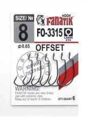 Офсетный крючок Fanatik FO-3315 №8