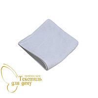 Салфетка белая махровая 30*30 500 гр/м2, 20/2