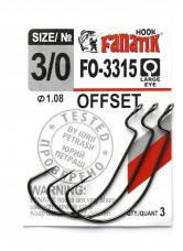 Офсетный крючок Fanatik FO-3315 №3/0