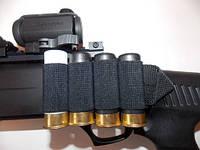 BML Комплект СайдСеддл (SideSaddle) BML – патронташ на ствольную коробку для дробовика 12 калибра из мягких