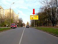 """Аренда рекламного щита г. Винница, Стахурского ул., 6, возле универсама """"Космос"""", в центр"""