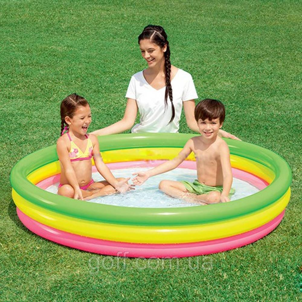 Маленький детский бассейн Bestway