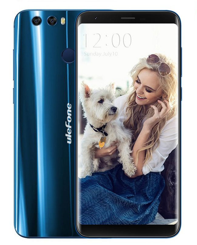 """Смартфон Ulefone Mix 2 Blue 2/16Gb, 13+5/13Мп, 5.7"""" IPS, 3300mAh, 2sim, MT6737, 4 ядра, 4G (LTE)"""