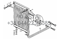 Масляный радиатор - SZ4RTF460000-2 на YTO-X904