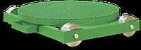 Стол ручной поворотный на тележке с путями