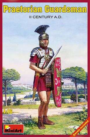 ПРЕТОРИАНСКИЙ ГВАРДЕЕЦ II ВЕК н.э.. 1/16 MINIART 16006 , фото 2