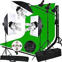 Комплект набор студийного света для фотостудии, видеостудии, фотостудия под ключ.