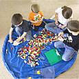 Детский Игровой Коврик - Мешок для Лего Хранения Игрушек, 1,5 м, фото 3
