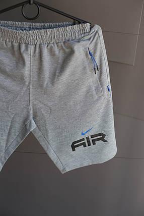 Мужские шорты Nike Air. Светло серые, фото 2