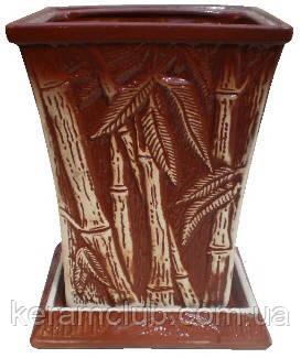 Бамбук малый глазурь