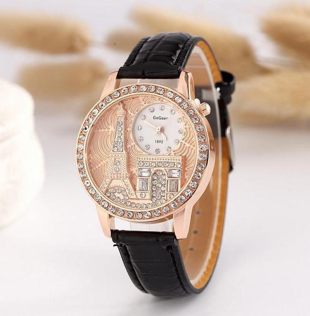 e9f42c2d Часы наручные женские со стразами Eiffel tower: продажа, цена в ...
