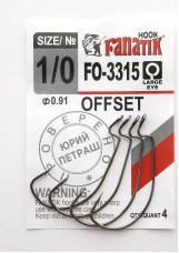 Офсетный крючок Fanatik FO-3315 №1/0