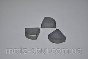 Твердосплавные пластины напайные ГОСТ 25397-90 (напаиваемые)