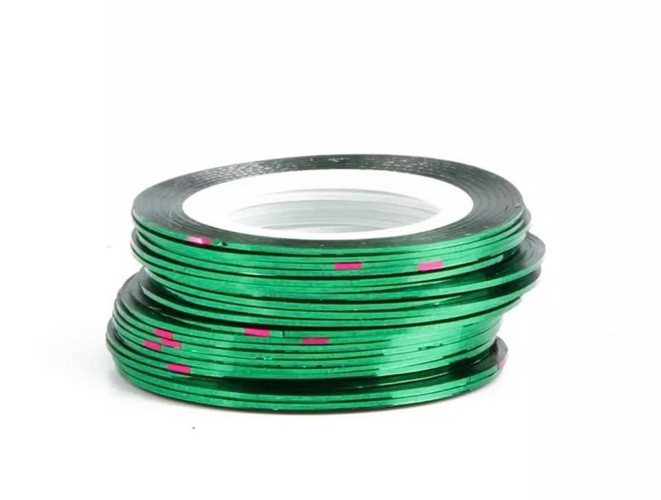 Нить для ногтей в рулоне STZ зеленый 0,8 мм