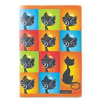 """Блокнот Axent """"Catsline"""" 8000-14-A, мягкая пластиковая обложка, А5, 80 листов, клетка"""