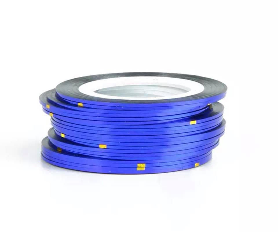 Нитка для нігтів в рулоні STZ синій 0,8 мм