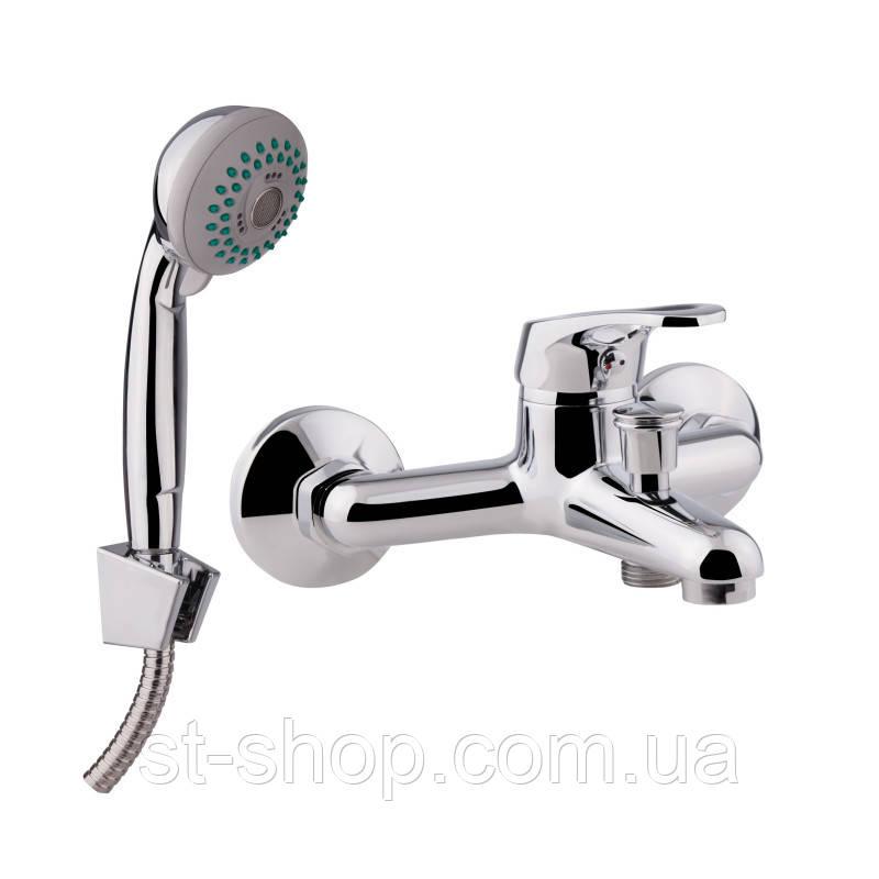 Смеситель для ванной Q-Tap Light CRM 006 короткий (k35)