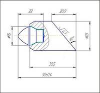 Инструмент для горизонтально-направленного бурения C25A-16S