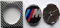 Комплект колпачков в колесные диски ///M BMW 68,5 мм/ 66 мм
