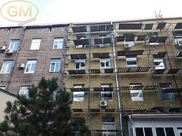 Утепление фасада базальтовой ватой