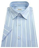 Мужская рубашка с коротким рукавом №10/3  - 50-1090 V4