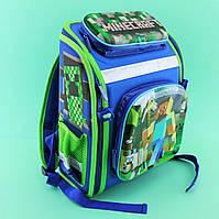Школьный рюкзак каркасный Майнкрафт