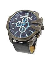 Мужские часы Diesel 10 bar (модель DZ4323) с кожанным ремешком (Тех.Пакет)