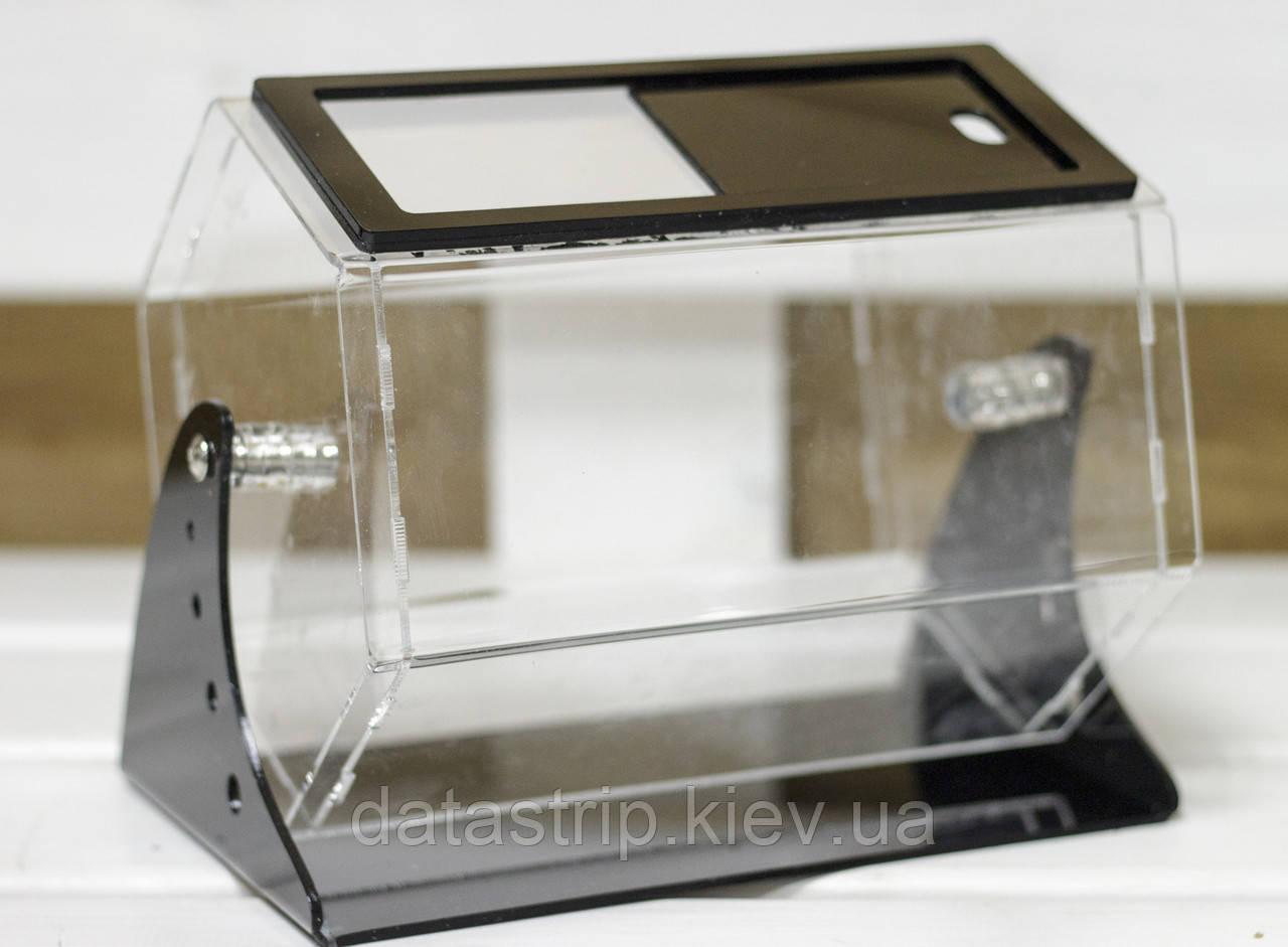 Лототрон 3 литра с черной подставкой
