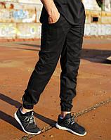 Мужские брюки карго Loki черные