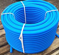 Труба полиэтиленовая синяя (пищевая) 32*, фото 1