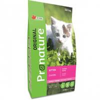 Pronature Original Kitten Chicken ПРОНАТЮР ОРИДЖИНАЛ КОТЕНОК корм для котят 2.27кг.