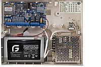 Комплект охранная сигнализация Лунь 9т + Линд Т + АКБ