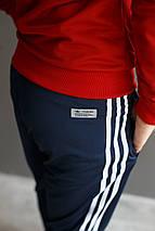 Мужской спортивный костюм Adidas.Ткань-Лакоста , фото 2