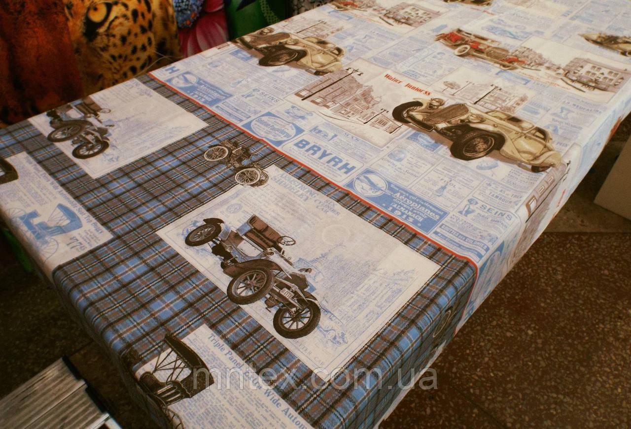 """Ткань для пошива постельного белья бязь Белорусь Ретро авто  / """"Чарівна Ніч"""""""