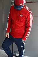 Мужской спортивный костюм Adidas.Ткань-Лакоста