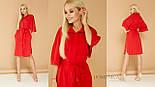 Женское стильное платье-рубашка свободного кроя (расцветки в ассортименте), фото 10