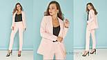 Женский стильный брючный костюм: пиджак и брюки (3 цвета), фото 3