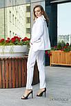 Женский стильный брючный костюм: пиджак и брюки (3 цвета), фото 8
