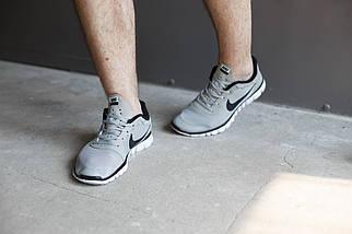 Мужские кроссовки Nike Free 3.0 Светло серые , фото 2