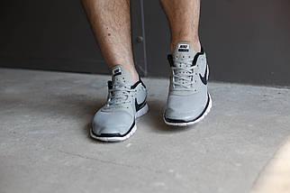 Мужские кроссовки Nike Free 3.0 Светло серые , фото 3