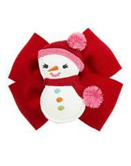 Заколка для волос Снеговик  для девочки Gymboree (США)