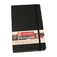 Блокнот для графики Talens Art Creation 13*21см 80л 140г/м черная обложка