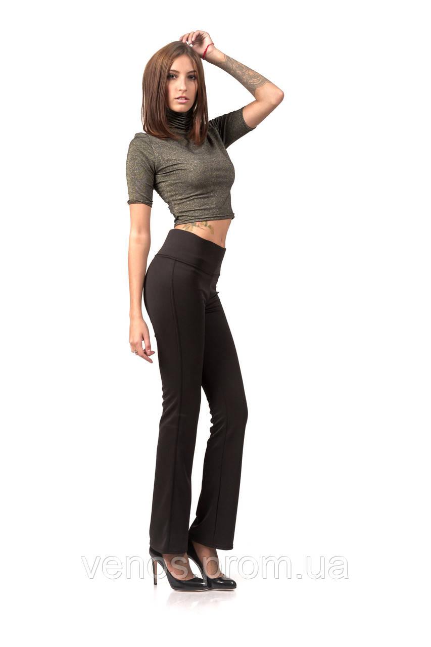 Женские стильные леггинсы-брюки. L063